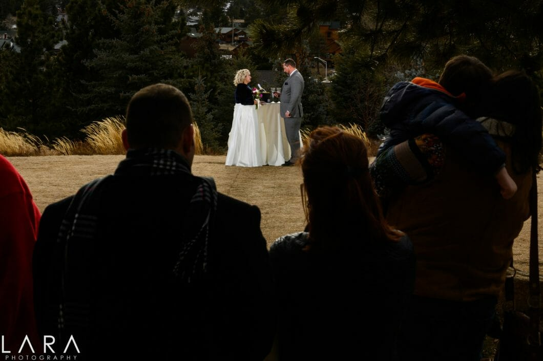 Stanley Hotel wedding
