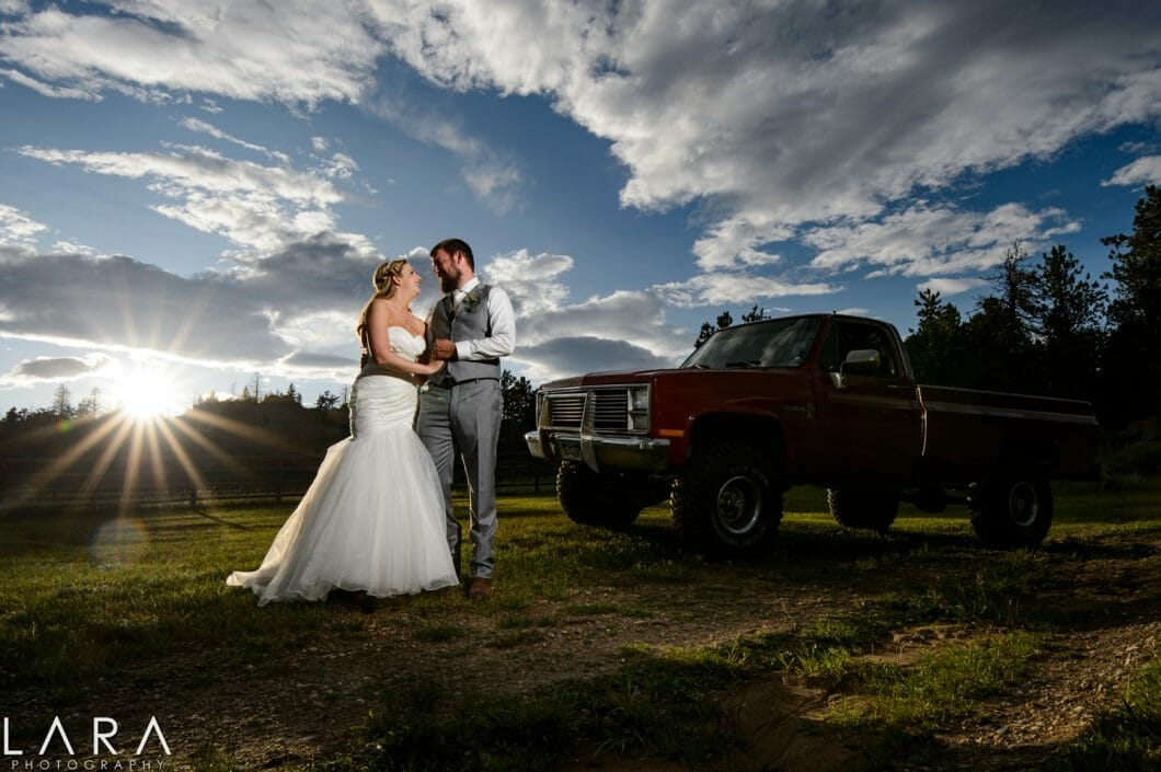 Stove Prairie Ranch Wedding