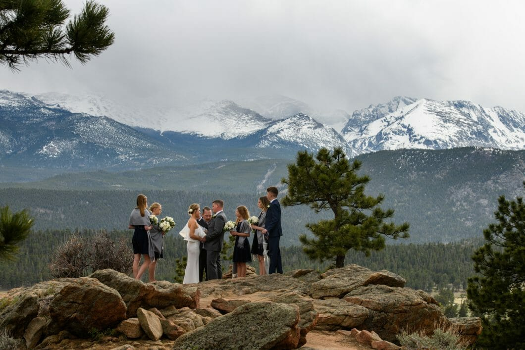 estes park elopement location