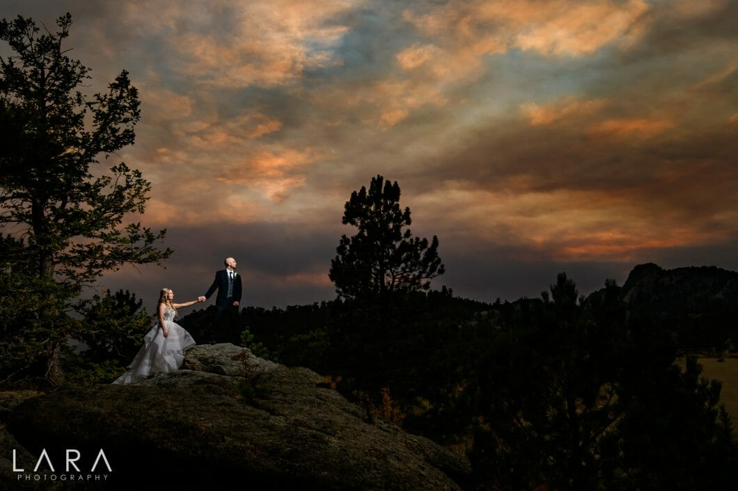 black canyon inn wedding estes park