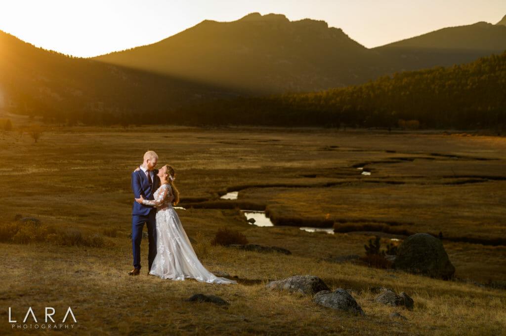 rocky mountain national park wedding photos