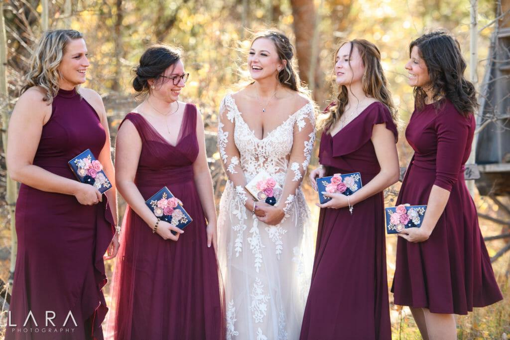 wild basin lodge wedding photos
