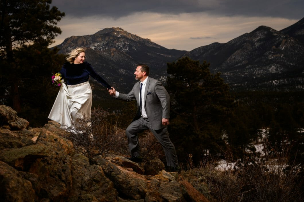 lara photography estes park wedding