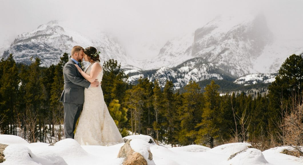 misty mountains wedding
